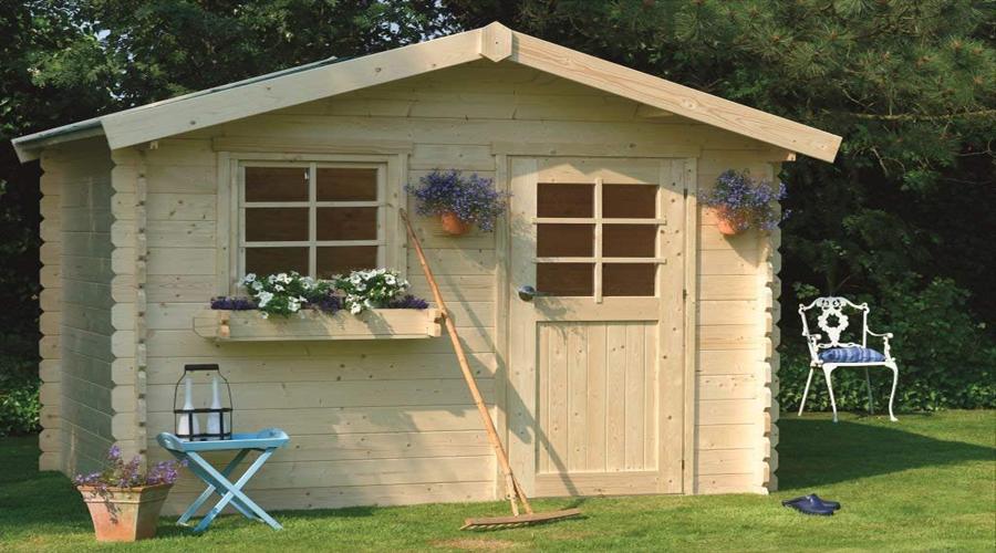 Casetas de jard n de madera tu tienda online al mejor - Leroy merlin casetas jardin ninos angers ...