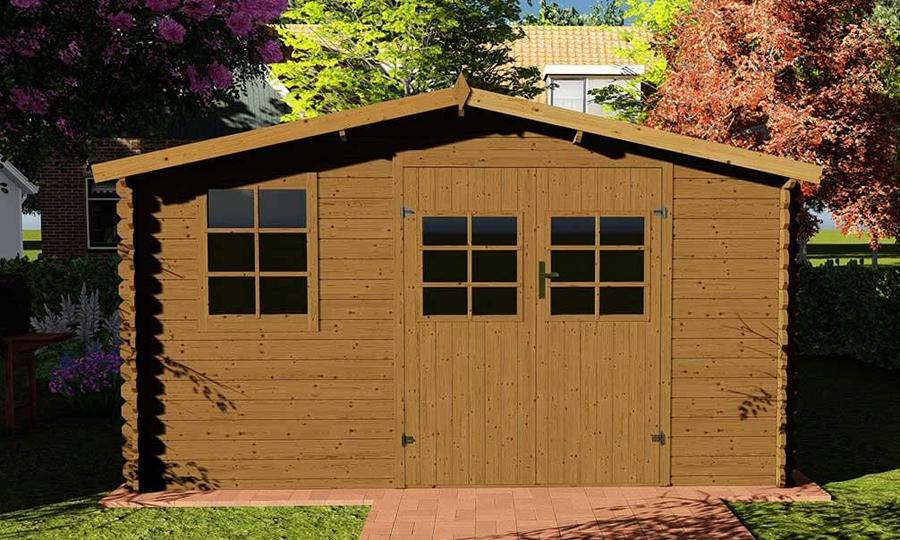 cómo instalar un armario de madera para exterior albecove