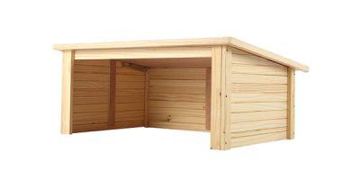 garaje madera barato
